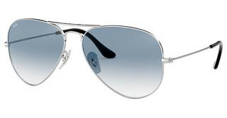 Ray-Ban RB3025 003/3F CRYSTAL GRADIENT LIGHT BLUESILVER