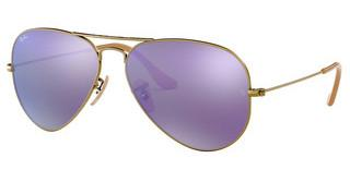 Ray-Ban RB3025 167/1M GREY MIRROR PURPLEBRUSHED BRONZE DEMI SHINY