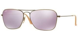Ray-Ban RB3136 167/4K LILLAC MIRRORDEMIGLOS BRUSHED BRONZE