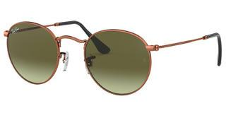 Ray-Ban RB3447 9002A6 GREEN GRADIENT BROWNSHINY MEDIUM BRONZE