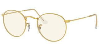 Ray-Ban RB3447 9196BL PHOTO GREY/BLUE LIGHT FILTERLEGEND GOLD