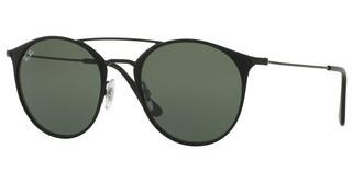 Ray-Ban RB3546 186 GREENBLACK TOP MATTE BLACK