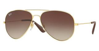 Ray-Ban RB3558 001/13 BROWN GRADIENT DARK BROWNGOLD
