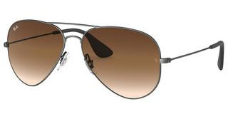 Ray-Ban RB3558 913913 BROWN GRADIENT DARK BROWNMATTE ANTIQUE BLACK