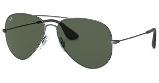 Ray-Ban RB3558 913971 DARK GREENMATTE ANTIQUE BLACK