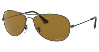 Ray-Ban RB3562 029/BB BROWN POLARMATTE GUNMETAL