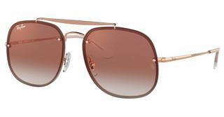 Ray-Ban RB3583N 9035V0 CLEAR GRADIENT RED MIRROR REDCOPPER