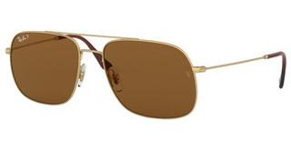 Ray-Ban RB3595 901383 DARK BROWNRUBBER ARISTA