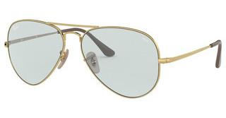 Ray-Ban RB3689 001/T3 LIGHT BLUEGOLD