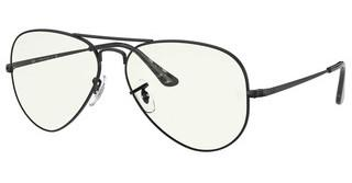 Ray-Ban RB3689 9148BF CLEAR/BLUE LIGHT FILTERBLACK