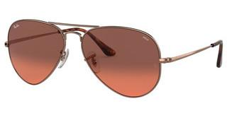 Ray-Ban RB3689 9151AA PHOTO RED GRADIENT BORDEAUXCOPPER