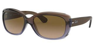 Ray-Ban RB4101 860/51 CRYSTAL MG CHOCOLATE GRADBROWN GRADIENT LILAC