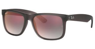 Ray-Ban RB4165 606/U0 GREY GRADIENT MIRROR REDTRANSPARENT GREY