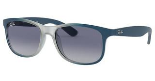Ray-Ban RB4202 63704L GREY GRADIENT BLUEGRAD BLUE/RUBBER LIGHT GREY TR