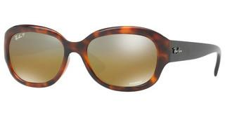 Ray-Ban RB4282CH 6281A2 BROWN MIR GREY GRADIENT POLARRED HAVANA