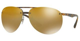 Ray-Ban RB4293CH 894/A3 BROWN MIR GOLD GRADIENT POLARMATTE HAVANA