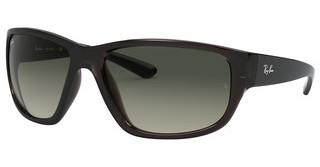 Ray-Ban RB4300 705/71 LIGHT GREY GRADIENT DARK GREYTRANSPARENT GREY