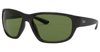 Ray-Ban RB4300 705/O9 POLAR GREEN-AR BLUETTRASPARENT GREY