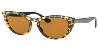 Ray-Ban RB4314N 12483L YELLOW MIRROR GOLDHAVANA GIALLA
