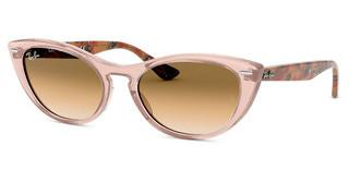 Ray-Ban RB4314N 128151 CLEAR GRADIENT BROWNTRANSPARENT LIGHT BROWN
