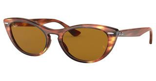 Ray-Ban RB4314N 954/33 BROWNSTRIPPED BROWN