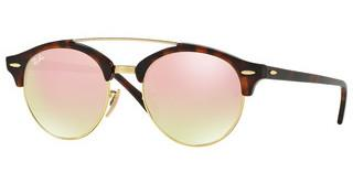 Ray-Ban RB4346 990/7O COPPER FLASH GRADIENTSHINY RED HAVANA
