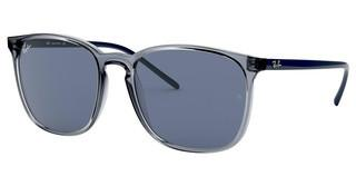 Ray-Ban RB4387 639980 BLUETRANSPARENT BLUE