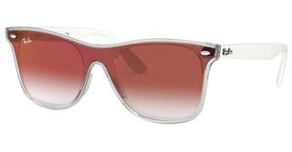 Ray-Ban RB4440N 6357V0 CLEAR GRADIENT RED MIRROR REDMATTE TRASPARENT