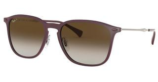 Ray-Ban RB8353 6354T5 LIGHT GREY GRADIENT BROWNVIOLET GRAPHENE