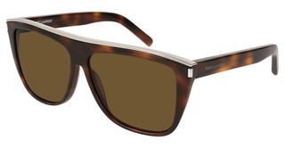 Saint Laurent SL 1 COMBI 003 BROWNHAVANA