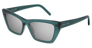 Saint Laurent SL 276 MICA 010 SILVERGREEN