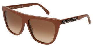 Stella McCartney SC0149S 004 BROWNRED