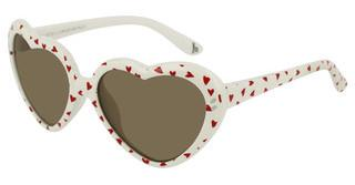 Stella McCartney SK0037S 007 BROWNWHITE