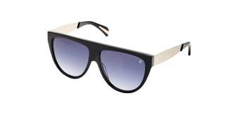 Sylvie Optics Impress 4 dark grey gradientblack-light gold brushed