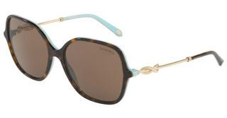 Tiffany TF4145B 81343G LIGHT BROWNHAVANA/BLUE