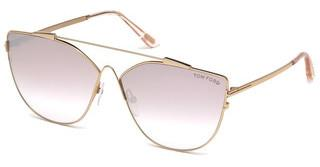 Tom Ford FT0563 33Z violett ver. od/und versp.gold