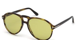 Tom Ford FT0645 55N grünhavanna bunt