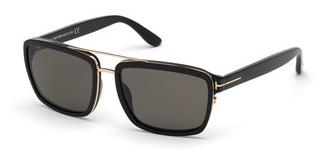Tom Ford FT0780 01D grau polarisierendschwarz glanz