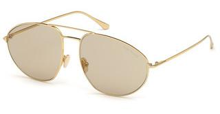 Tom Ford FT0796 30E brauntiefes gold glanz