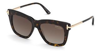 Tom Ford FT0822 52H braun polarisierendhavanna dunkel