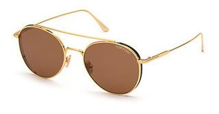 Tom Ford FT0826 30E brauntiefes gold glanz