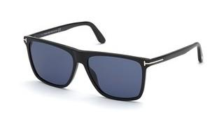 Tom Ford FT0832 01V blauschwarz glanz