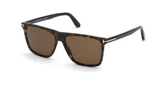 Tom Ford FT0832 52H braun polarisierendhavanna dunkel