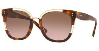 Valentino VA4042 501114 GRADIENT BROWN VIOLETHAVNA/GOLD