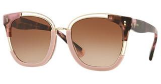 Valentino VA4042 506713 GRADIENT BROWN VIOLETHAVANA PINK/PINK/LIGHT GOLD