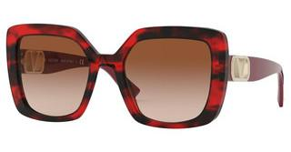 Valentino VA4065 502013 GRADIENT BROWNRED HAVANA