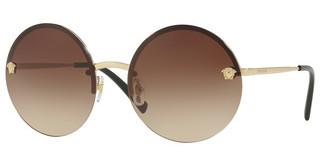 Versace VE2176 125213 BROWN GRADIENTPALE GOLD