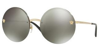 Versace VE2176 12524T DARK GREY MIRROR LIGHT GOLDPALE GOLD