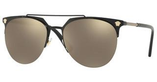 Versace VE2181 12615A LIGHT BROWN MIRROR GOLDMATTE BLACK