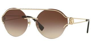 Versace VE2184 125213 BROWN GRADIENTPALE GOLD